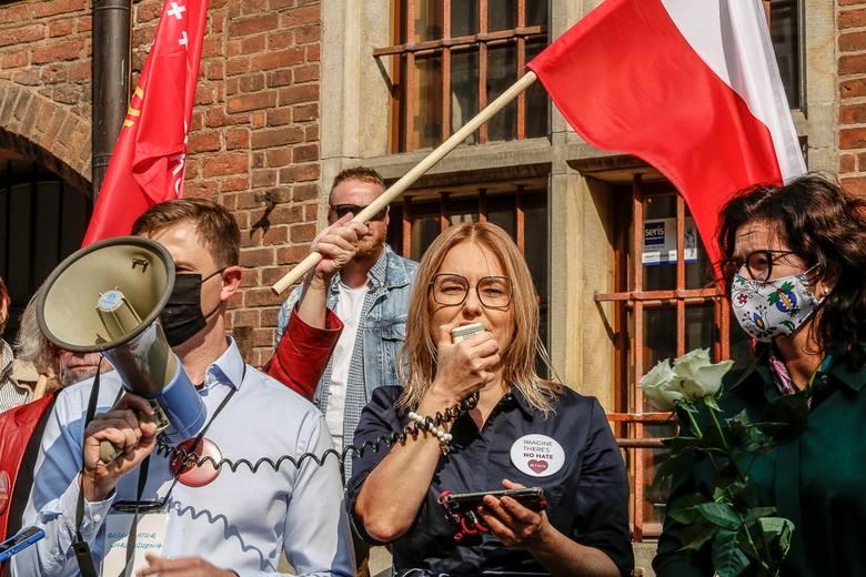 Demonstracja Młodzieży Wszechpolskiej i kontrmanifestacje 12.09.2020.