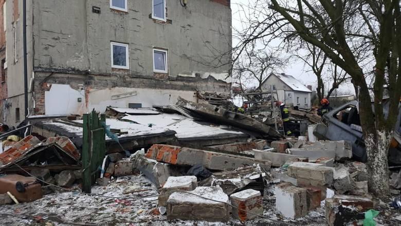 Wybuch gazu w Gliwicach Ostropie. Zginęła jedna osoba
