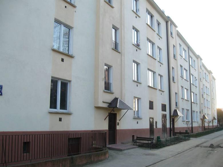 Blok przy ul. Hetmańskiej 33, w którym  German miała pokój przy rodzinie Tomaszewskich.