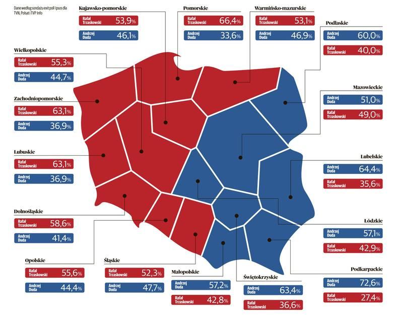 Wyniki wyborów w woj. lubelskim. Jak głosowali mieszkańcy naszego regionu? Sprawdźcie sondażowe wyniki