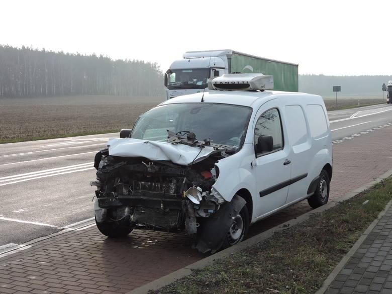 Tyszki-Ciągaczki. Wypadek, 28.11.2019