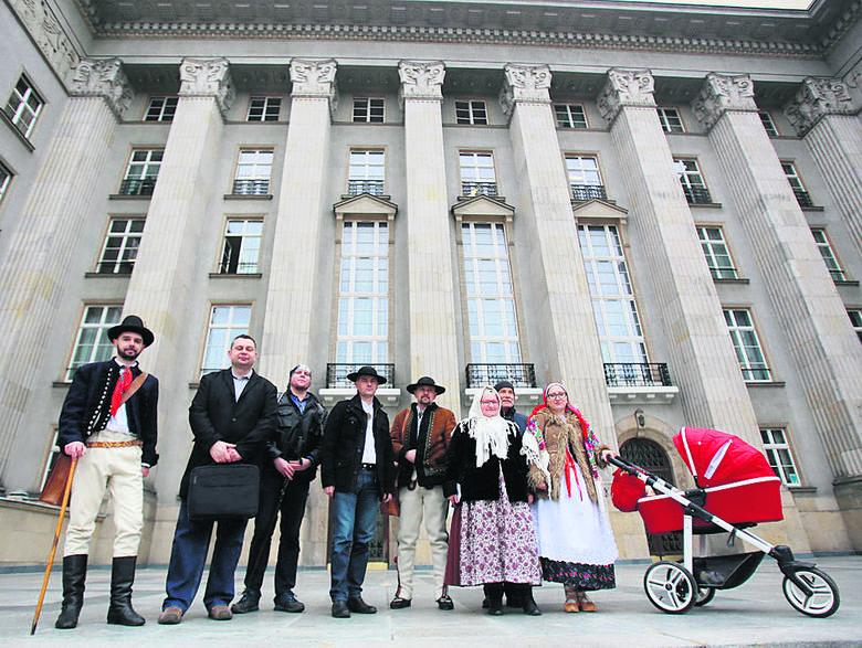 Petycję składali przedstawiciele wszystkich subregionów utożsamiających się z Małopolską