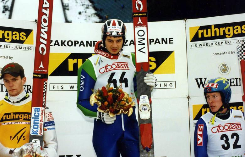 """16 stycznia 1999 roku. Dzień triumfu na Pucharze Świata w Zakopanem. Stefan Horngacher w całej karierze wygrał """"tylko"""" dwa razy w"""