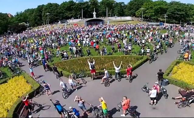 W niedzielę tysiące rowerzystów wzięło udział w Święcie Cyklicznym w Szczecinie.