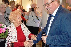 Spotkanie wigilijne u bytowskich seniorów.