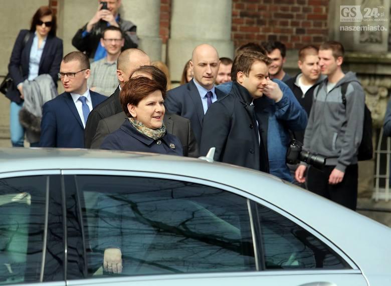 Premier Beata Szydło: Będą zlecenia z MON dla szczecińskiej stoczni [wideo]