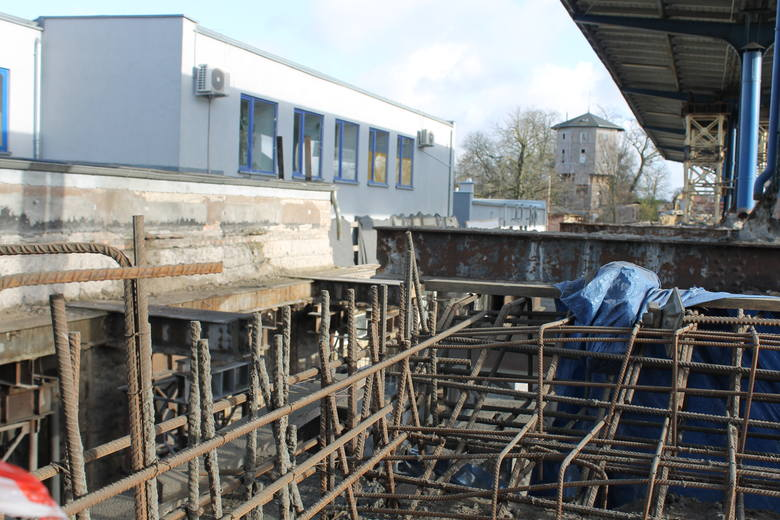 Trwa remont estakady kolejowej w Gorzowie.