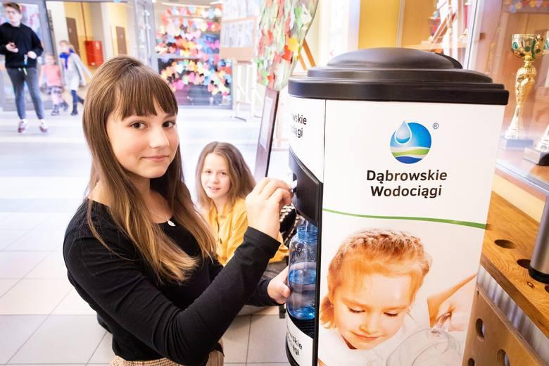 Dąbrowska woda w szkołach!