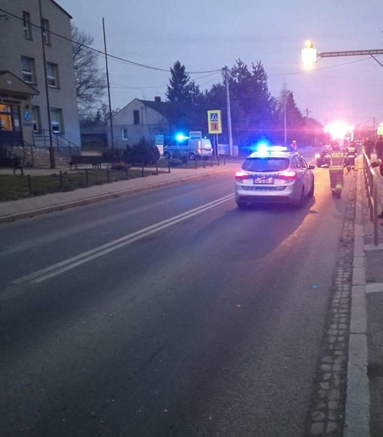 Wypadek w Nowym Brzesku