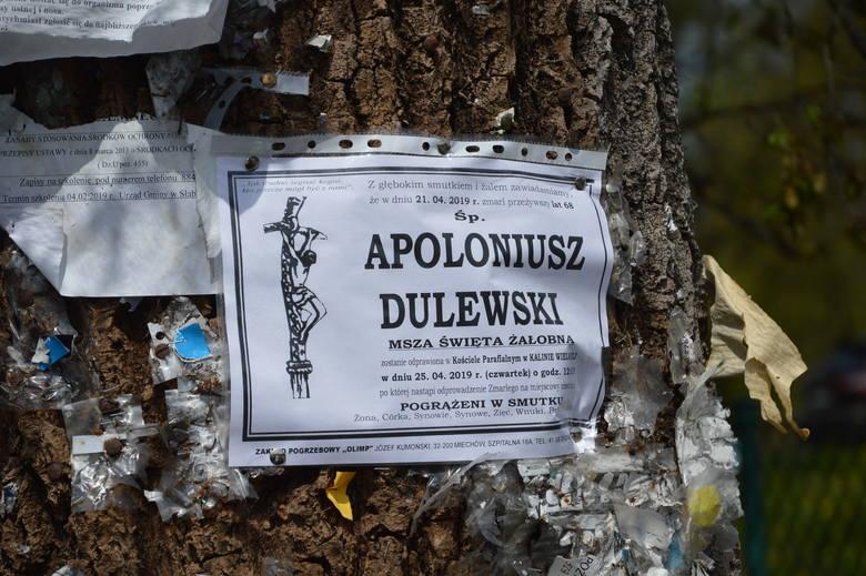 Na cmentarzu w Kalinie Wielkiej spoczął Apoloniusz Dulewski