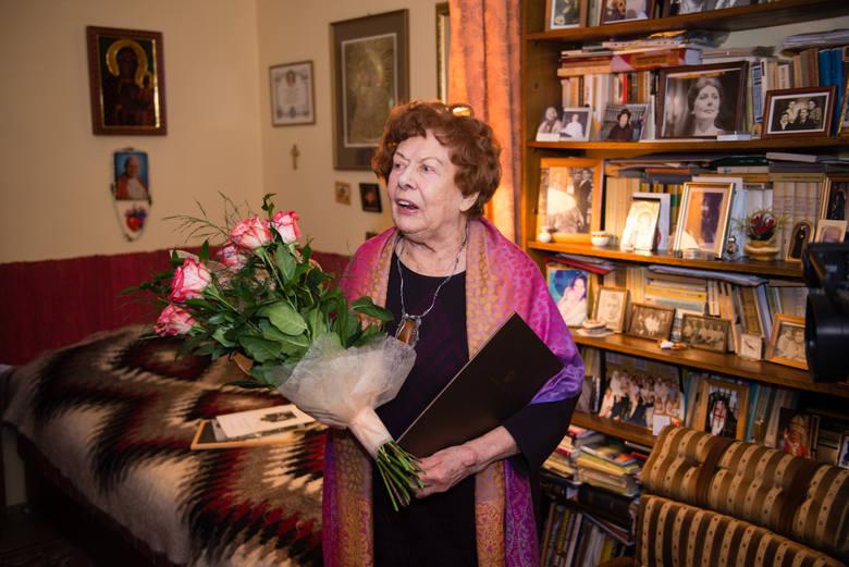 W ubiegłym tygodniu wspaniały jubileusz 90. urodzin obchodziła najbardziej znana toruńska aktorka, Zofia Melechówna.