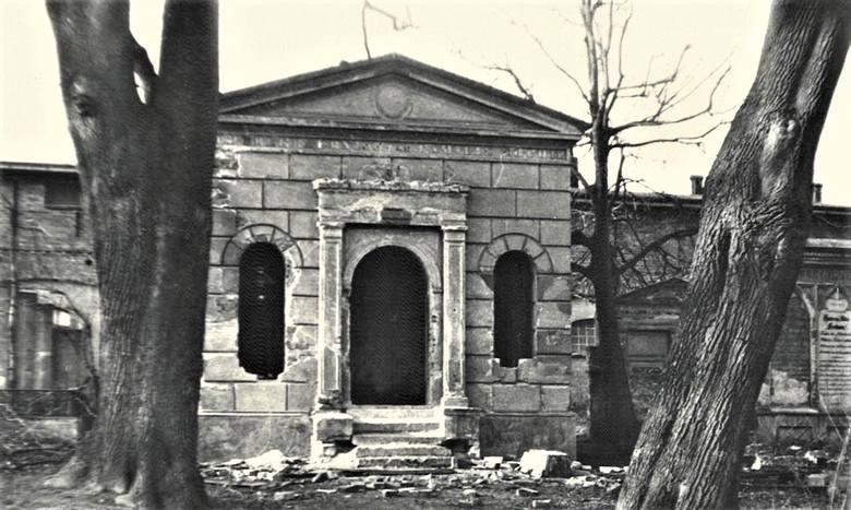 Lata 80. Cmentarz ewangelicki w Kargowej