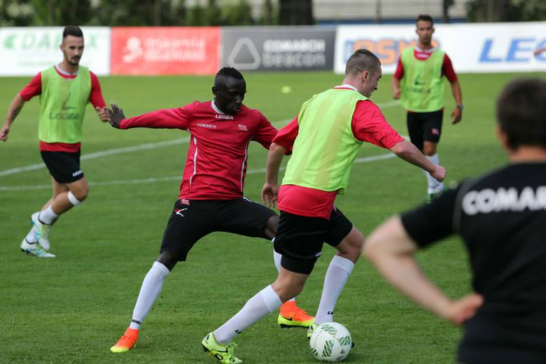 Dialiba hat-tricka przeciwko Podbeskidziu skompletował zaledwie w 15. minut