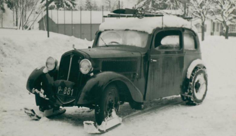 Skoda Popular. Poskramiacz śniegu z 1934 roku
