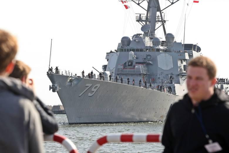 Amerykański niszczyciel USS Oscar Austin w Gdyni