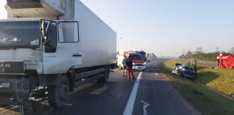 Do tragicznego wypadku doszło dziś przed godz. 12 przy ul. Staszica w Nakle nad Notecią.