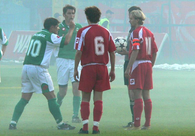 Ostatni mecz o ligowe punkty pomiędzy Radomiakiem Radom a Widzewem Łódź odbył się w sezonie 2005/2006. U siebie zieloni wtedy przegrali 2:3, natomiast