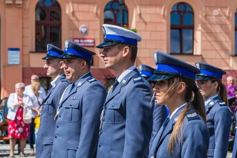 W Strzelcach Kraj. świętowali policjanci z powiatu strzelecko - drezdeneckiego