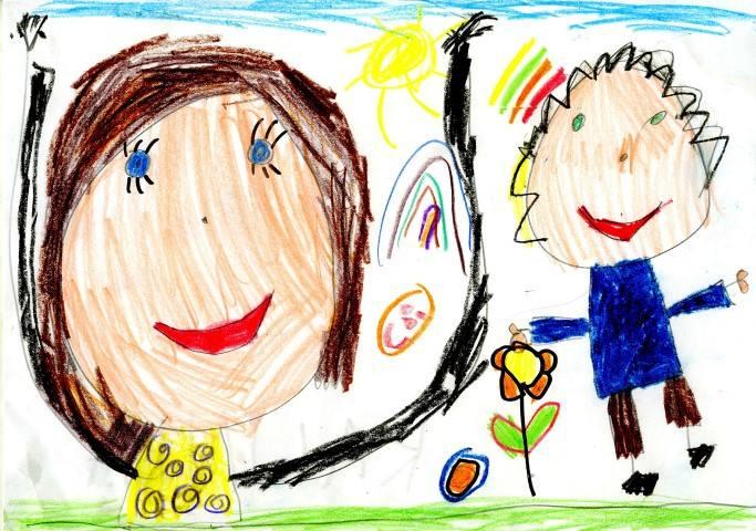 Babcia i dziadek (od lewej) Kaliny Kubik, 5 i pół roku
