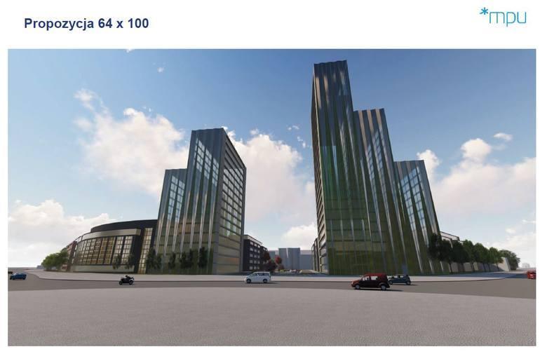 W sąsiedztwie ronda Rataje miasto ma działkę, na której mogą powstać dwa wysokie budynki - jeden 76-metrowy, a drugi 100-metrowy. Nieruchomości, której cena wywoławcza wynosiła 50 milionów złotych nie udało się zbyć w 2020 r. W tym roku nie znalazła się ona w ofercie sprzedaży, czeka na lepsze...