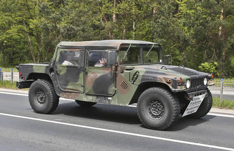 Amerykański pojazd wojskowy