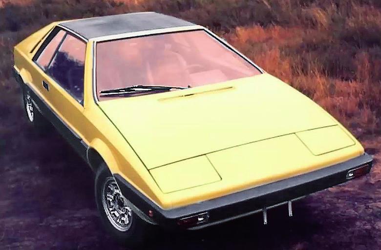 Polskiego Fiata 1100 Coupé z 1973 r. natychmiast ochrzczono polskim Lotusem Espritem