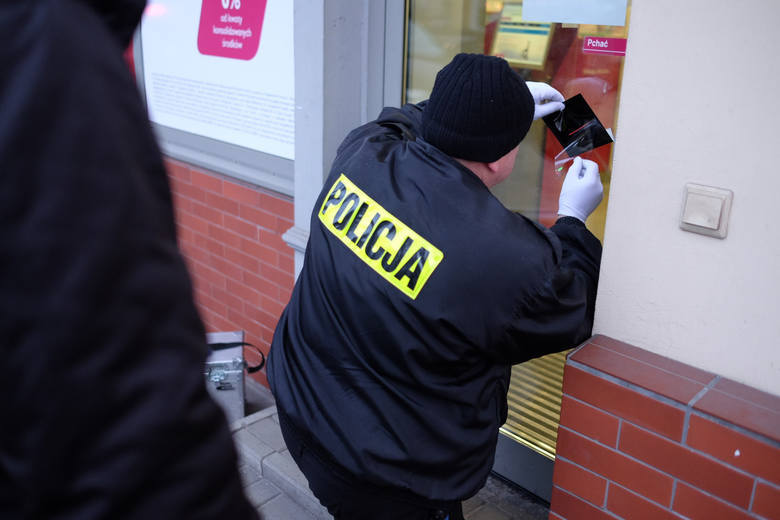 Na proces czeka mężczyzna podejrzany o niedawny napad na bank przy ulicy Olsztyńskiej w Toruniu. Tymczasem co roku zdarza się w regionie kilka podobnych