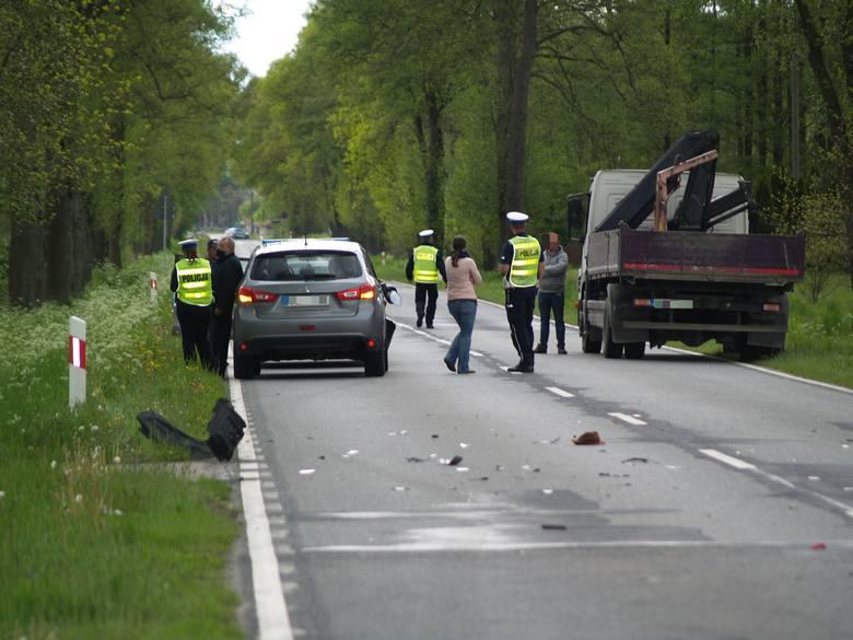 Śmiertelny wypadek w Myszyńcu, 20.05.2020