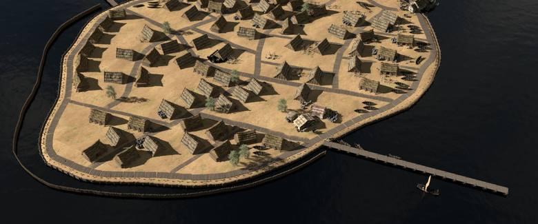 Tak mógł wyglądać port w Pucku w drugiej połowie XII wieku