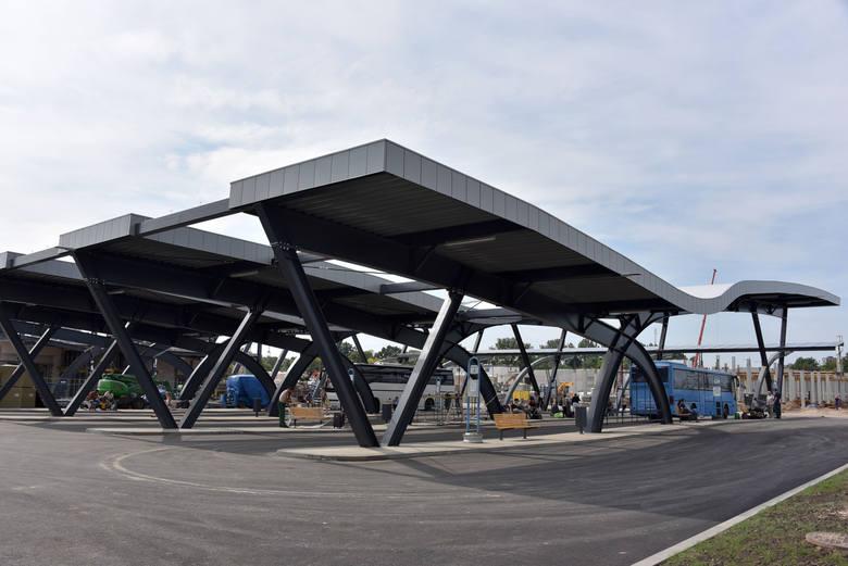 Budowa nowego dworca PKS w Białymstoku. Perony gotowe. Czas na dworzec (zdjęcia)