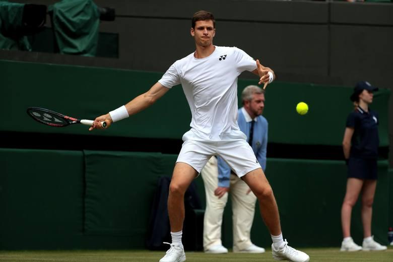 Wimbledon 2019. Hurkacz się postawił, ale Djoković był za mocny