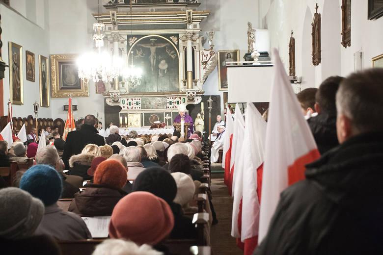 Dzień Pamięci o Żołnierzach Wyklętych. Msza kościele św. Jacka w Słupsku