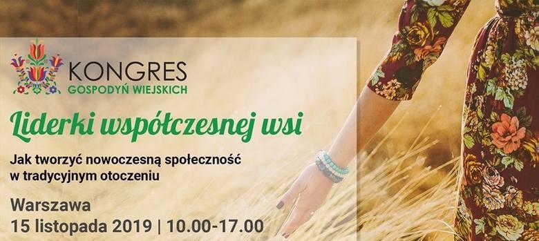 Pierwszy Ogólnopolski Kongres Gospodyń Wiejskich 15 listopada w Warszawie. Wiedza i dyskusje dla kół - trwają zapisy