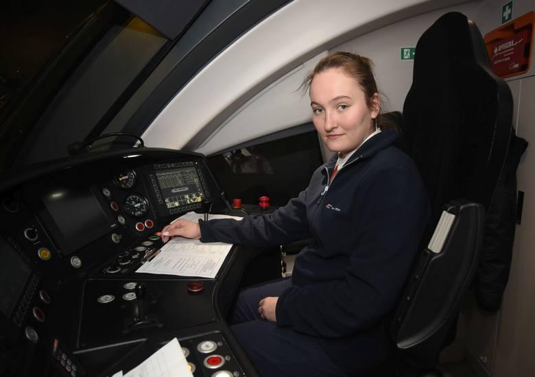 Pierwsza kobieta prowadząca pociągi PKP Intercity to łodzianka ze Stoków