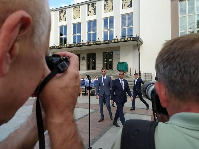 Morawiecki: Polski Ład to dla Podlaskiego wielka szansa