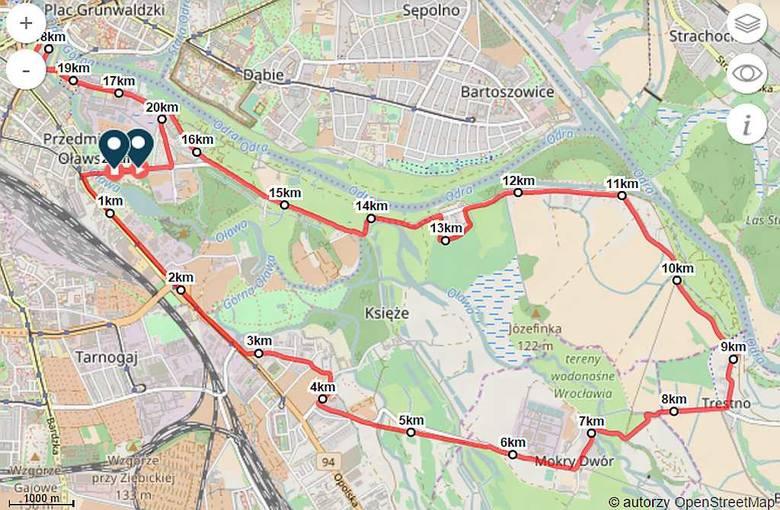 Już w sobotę półmaraton we Wrocławiu. Zablokowane ulice [MAPA]