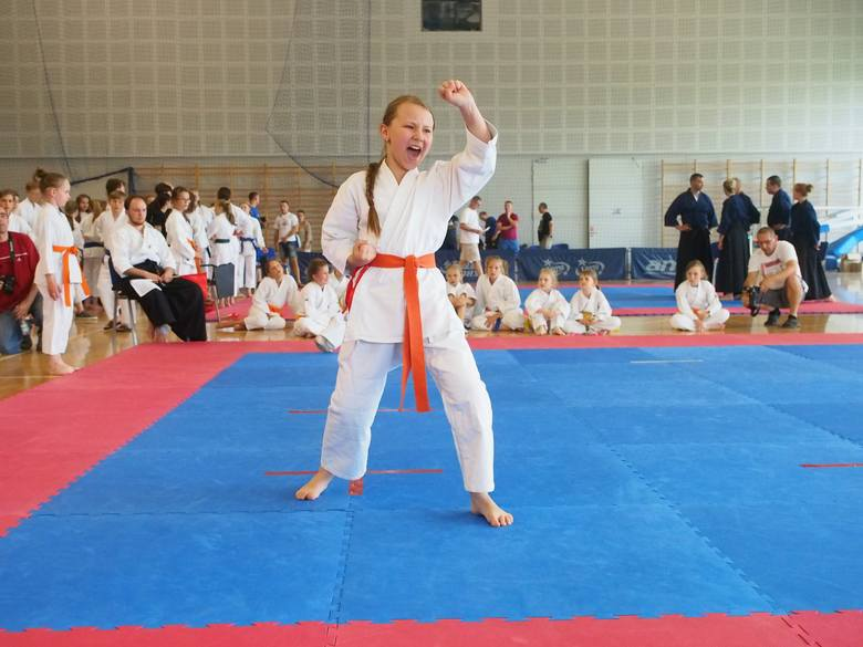 Grad medali krakowskich karateków w Bytomiu