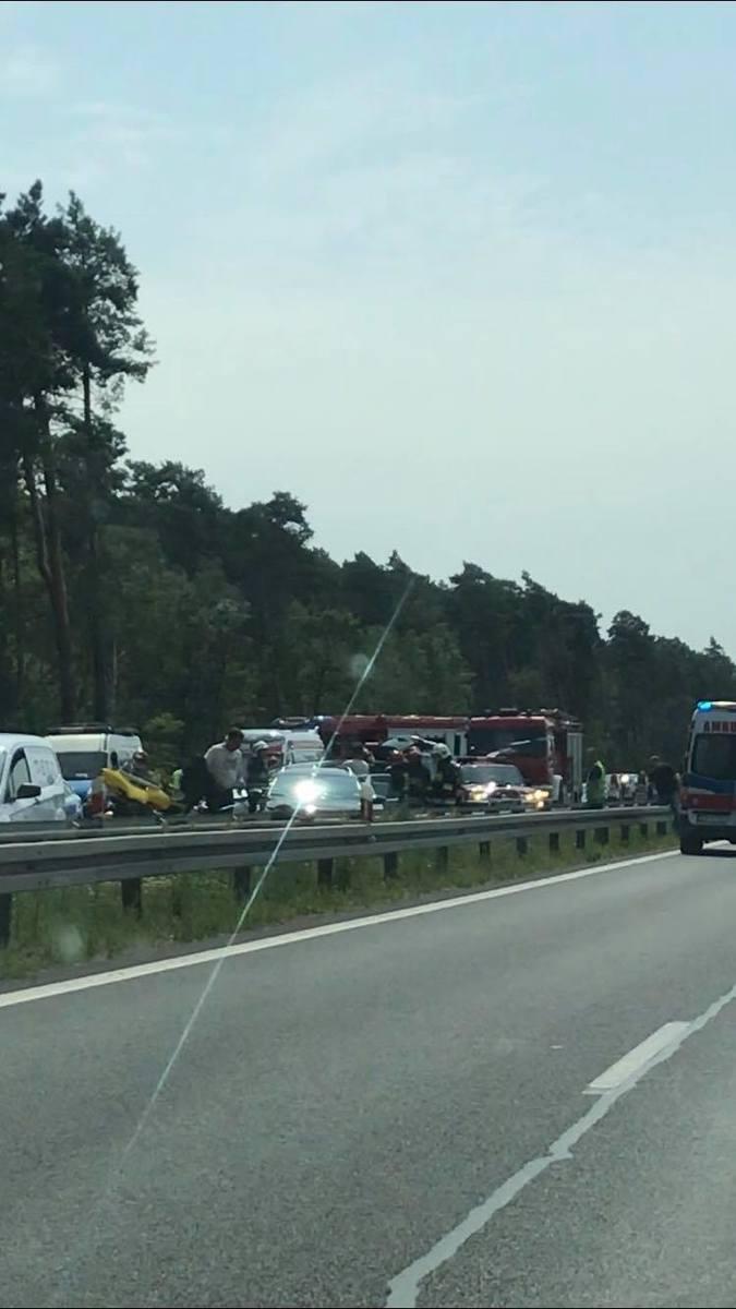 Wypadek pod Goleniowem na S3. Pięć osób rannych [ZDJĘCIA]