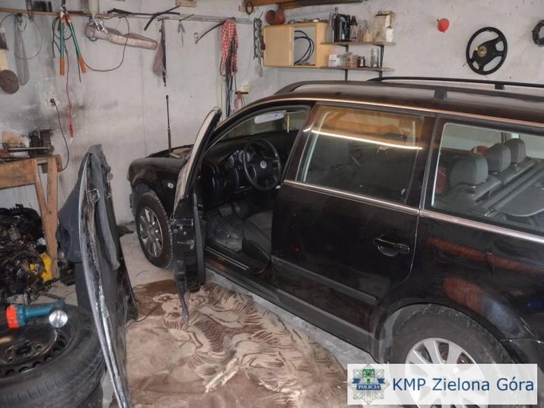 """Tak wygląda """"dziupla"""" złodzieja samochodów (zdjęcia)"""
