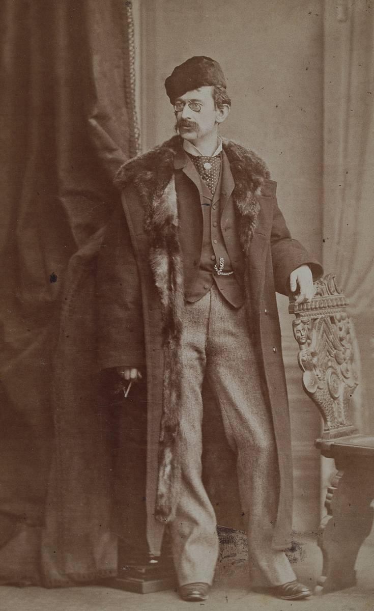 Portret Karola Chłapowskiego wykonany w Warszawie