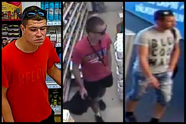 Policjanci poszukują sprawców kradzieży mienia w białostockich sklepach. Poznajesz któregoś z nich?