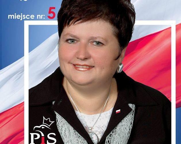 Elżbieta Chabińska w 2018 kandydowała do rady powiatu nyskiego z listy PiS