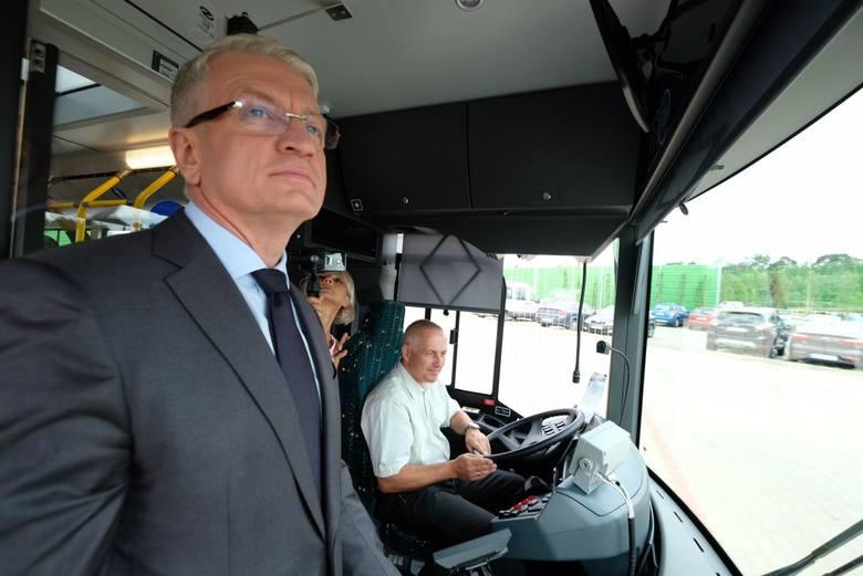Jacek Jaśkowiak zapowiada dalszy rozwój transportu publicznego w Poznaniu.