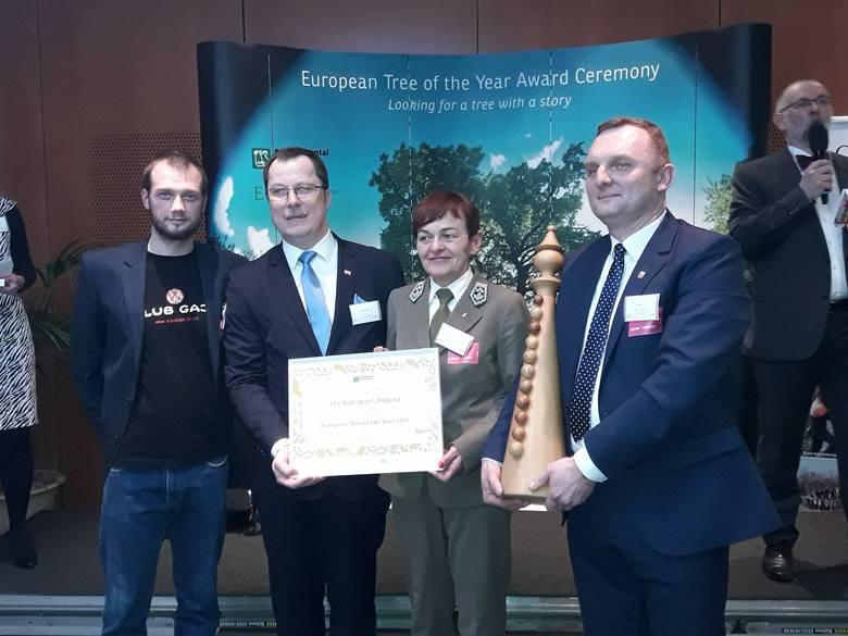 Europejskim Drzewem Roku 2017 został Dąb Józef z Polski!