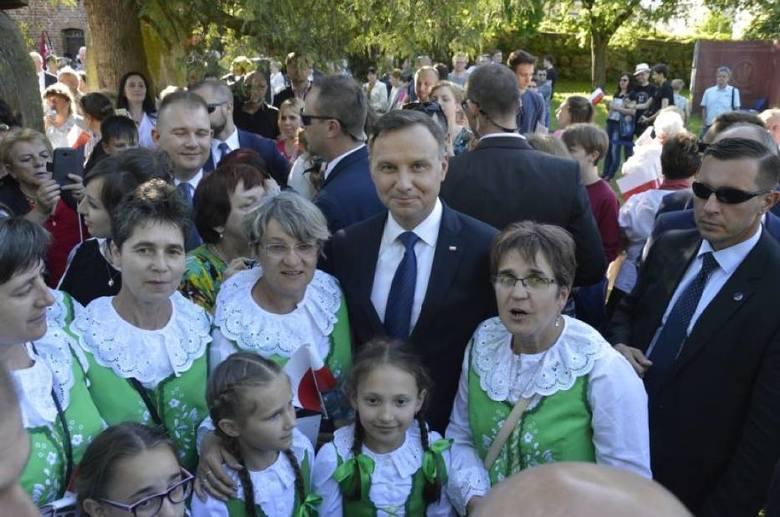Wizyta prezydenta Andrzeja Dudy w Sztumie. Gorąco przyjęli go mieszkańcy i przedstawiciele samorządu [ZDJĘCIA] Andrzej Duda na Pomorzu