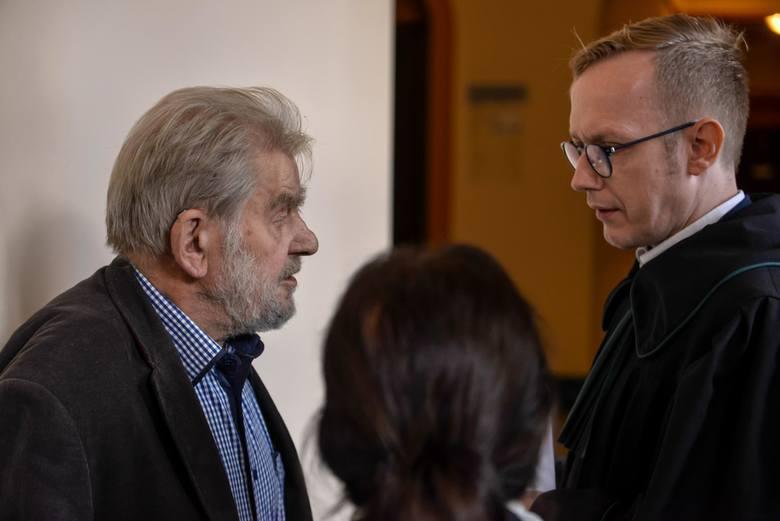 Rozprawa w procesie przeciwko Andrzejowi Gwiaździe w gdańskim sądzie, 22.10.2019.