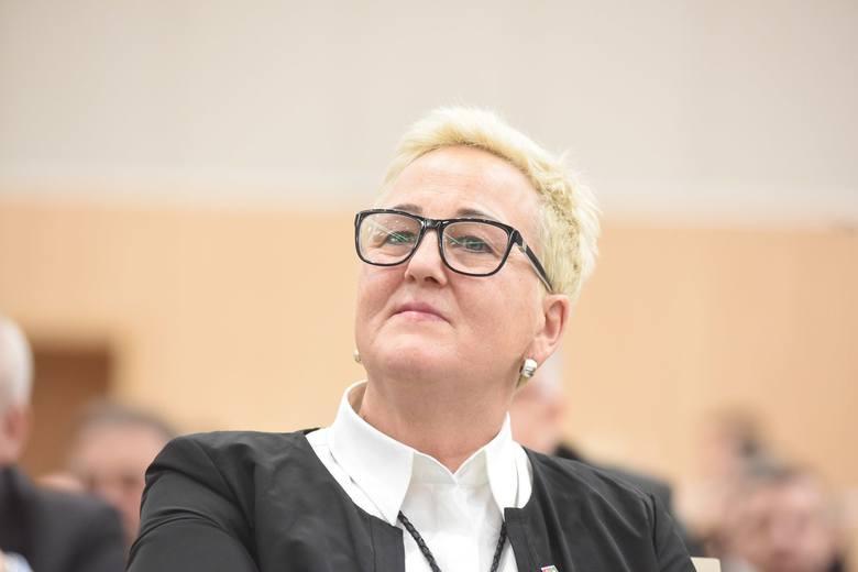 Przewodnicząca Wioleta Haręźlak