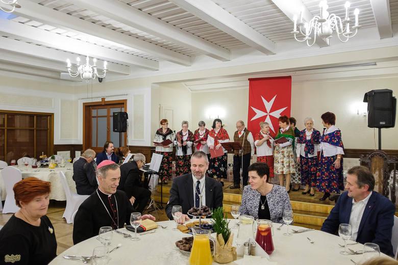 Tarnów. Opłatek Maltański w Modrzewiowym Dworze [ZDJĘCIA]