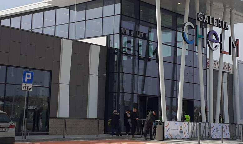 Galeria Chełm w dniu otwarcia