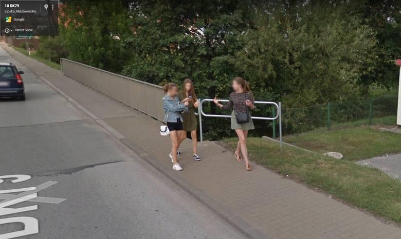 W programie Google Street View automatycznie zamazywane są ludzkie twarze i tablice rejestracyjne samochodów, ale na zdjęciach można rozpoznać siebie